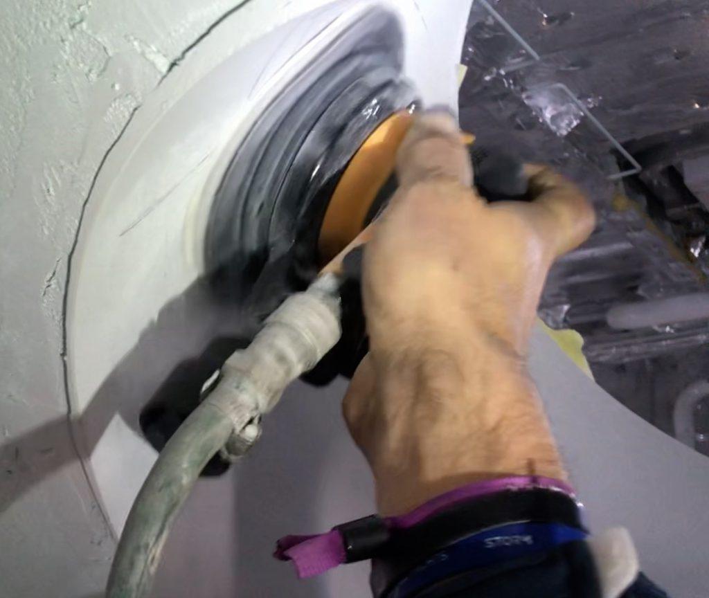 Sanding Porthole - QSanding